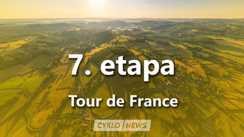 7. etapa Tour de France 2021