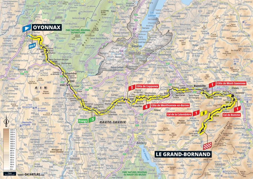 Tour de France 2021 8. etapa