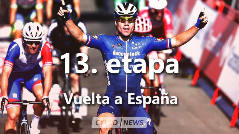 Fabio Jakobsen 13. etapa Vuelta a Espaňa 2021