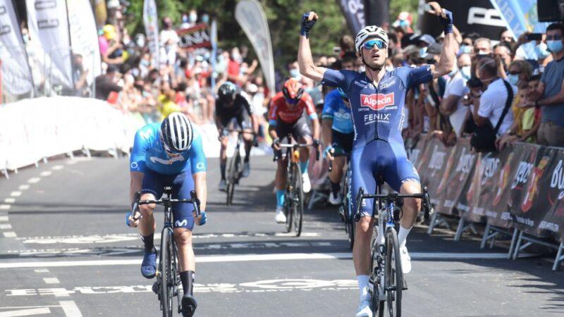 Edward Planckaert 1. etapa Vuelta a Burgos 2021