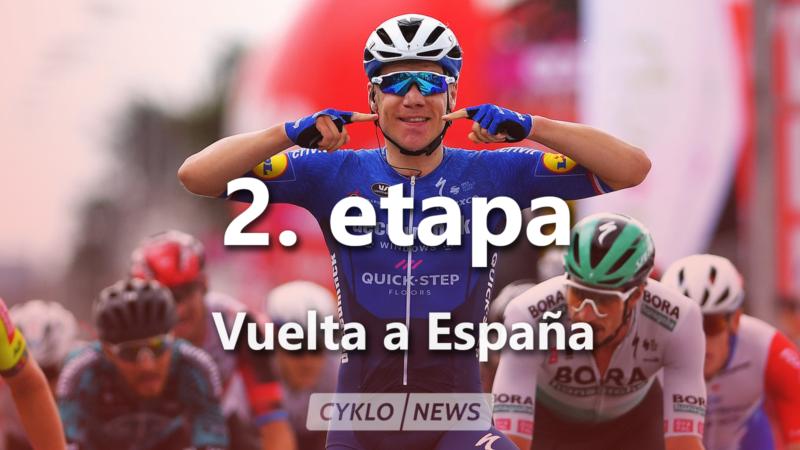 2. etapa La Vuelta a Espaňa 2021