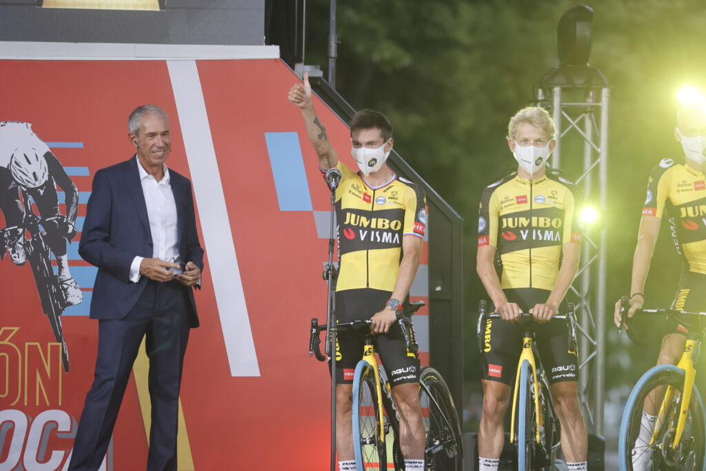 Primož Roglič Vuelta a Espaňa 2021 tímy