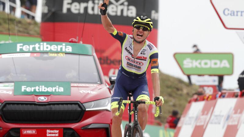 Rein TAARAMAE 3. etapa La Vuelta a Espaňa 2021