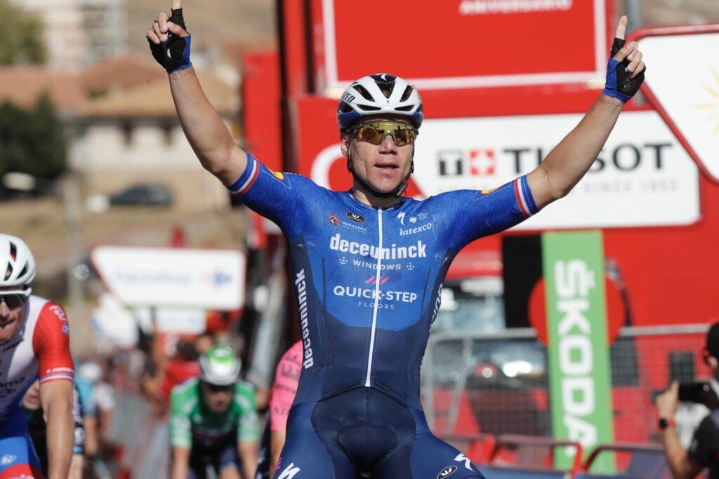 Fabio Jakobsen 4. etapa La Vuelta a Espaňa 2021
