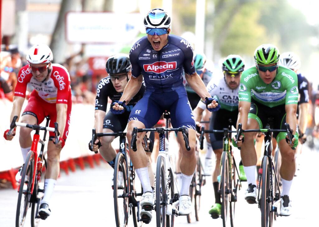 Jasper Philipsen 5. etapa Vuelta a Espaňa 2021