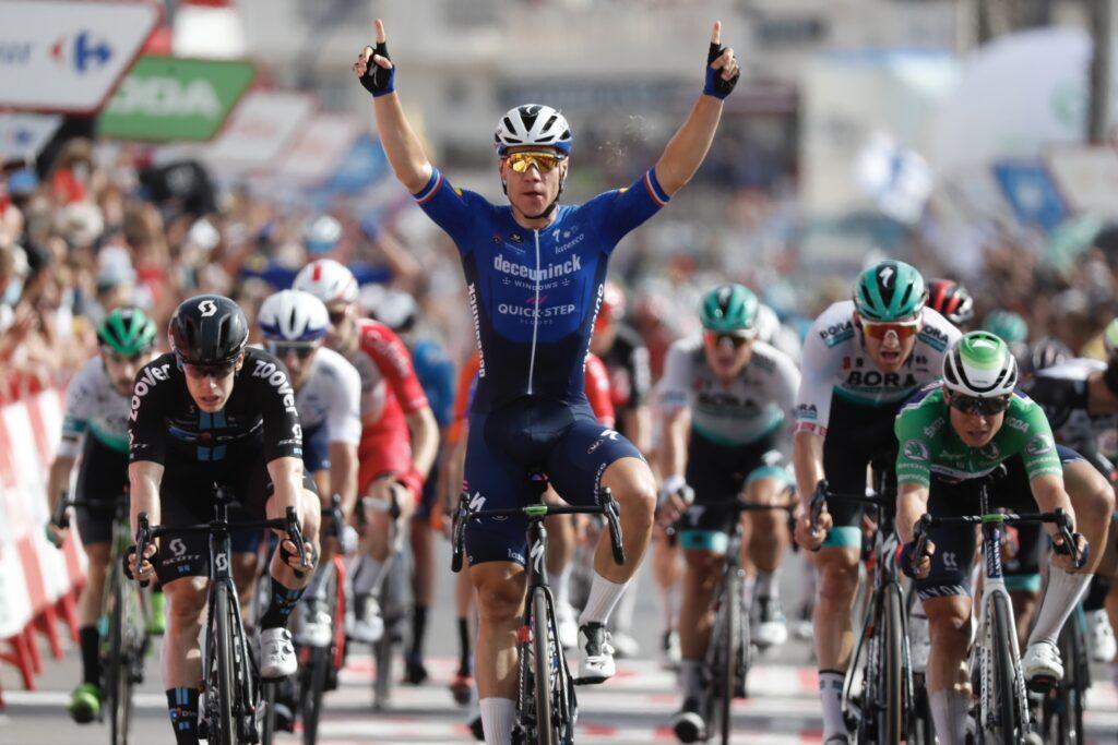 Fabio Jakobsen 8. etapa Vuelta 2021