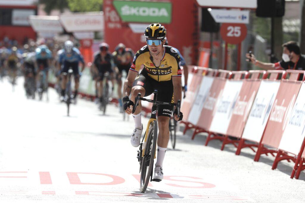 Primož Roglič 11. etapa Vuelta a Espaňa 2021