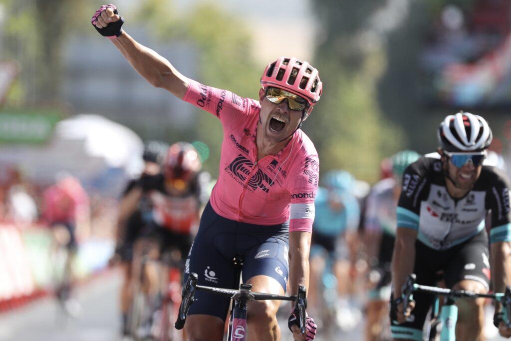 Magnus Cort 12. etapa Vuelta a Espaňa 2021
