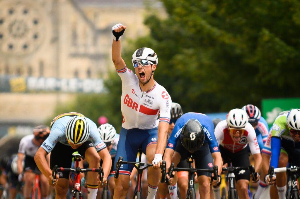 Ethan Vernon 4. etapa Tour de l'Avenir 2021