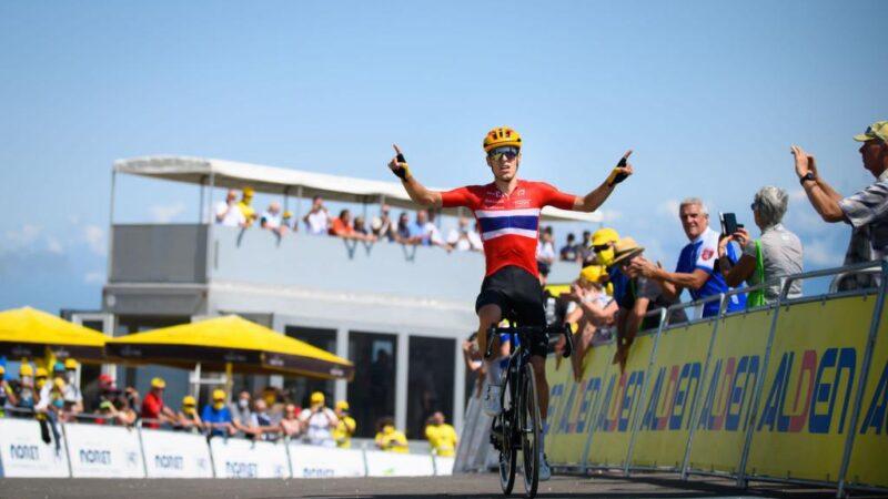 Tour de l'Avenir 2021 Tobias Halland Johannessen výsledky