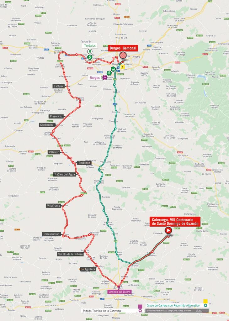 2. etapa Vuelta 2021