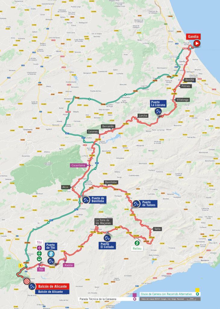 7. etapa La Vuelta a Espaňa 2021