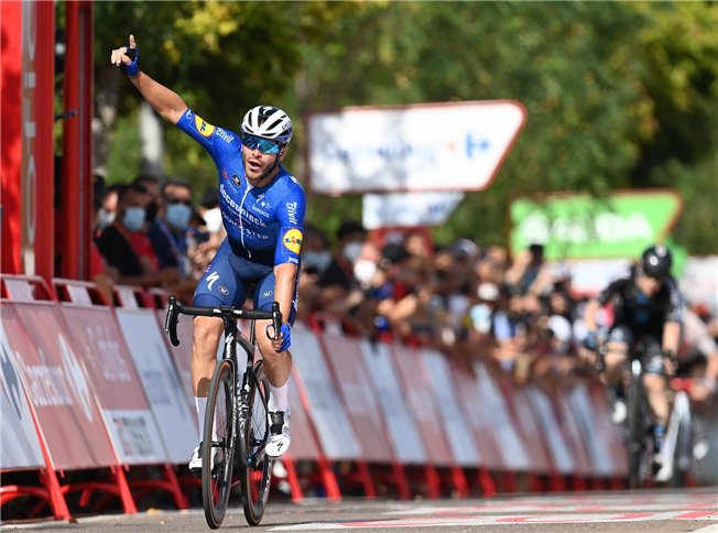 Florian Sénéchal Vuelta 2021