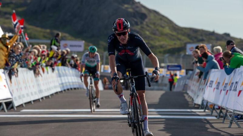 Okolo Nórska 2021 1. etapa Ethan Hayter