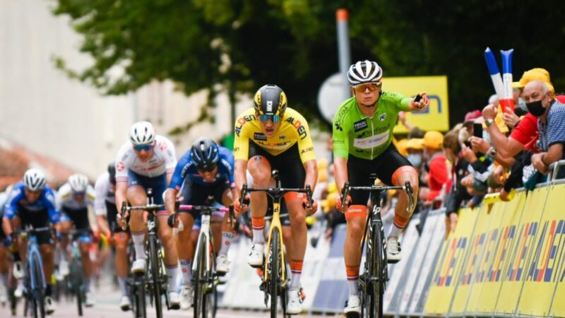 Marijn van den Berg 5. etapa Tour de l'Avenir 2021