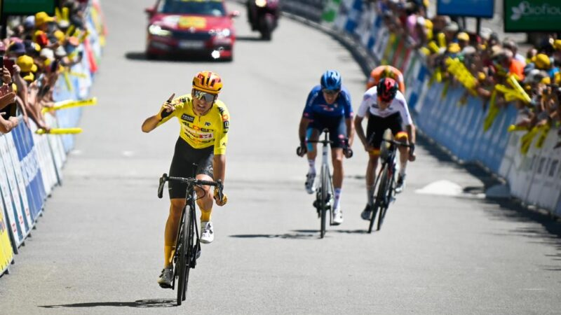 8. etapa Tour de l'Avenir 2021 Tobias Halland Johannessen
