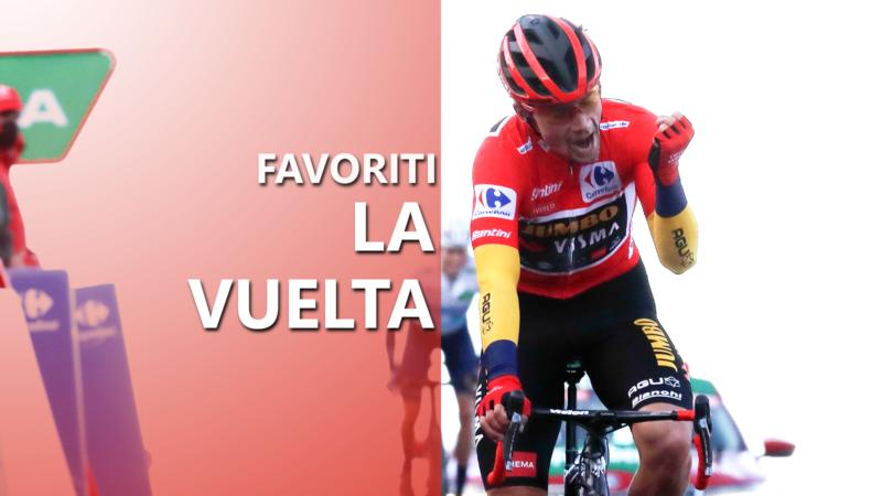 La Vuelta a Espaňa 2021 celkové poradie