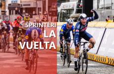 Vuelta a Espaňa 2021 šprintéri a zelený dres