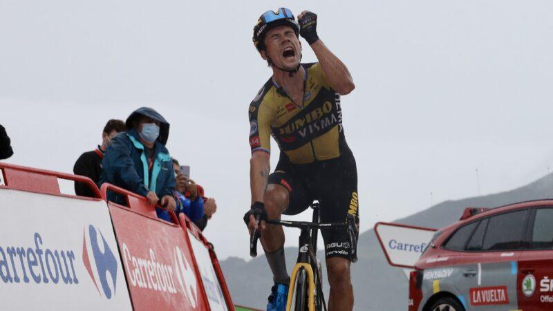 Primož Roglič 17. etapa Vuelta 2021
