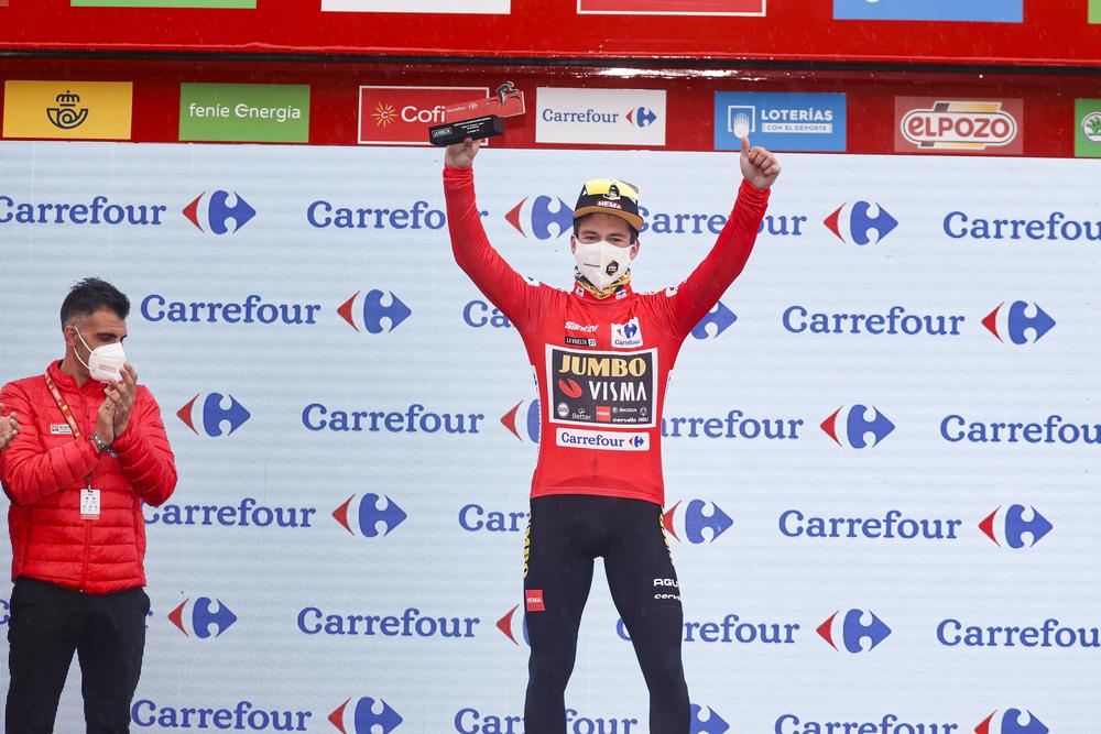 Primož Roglič 2021 Vuelta