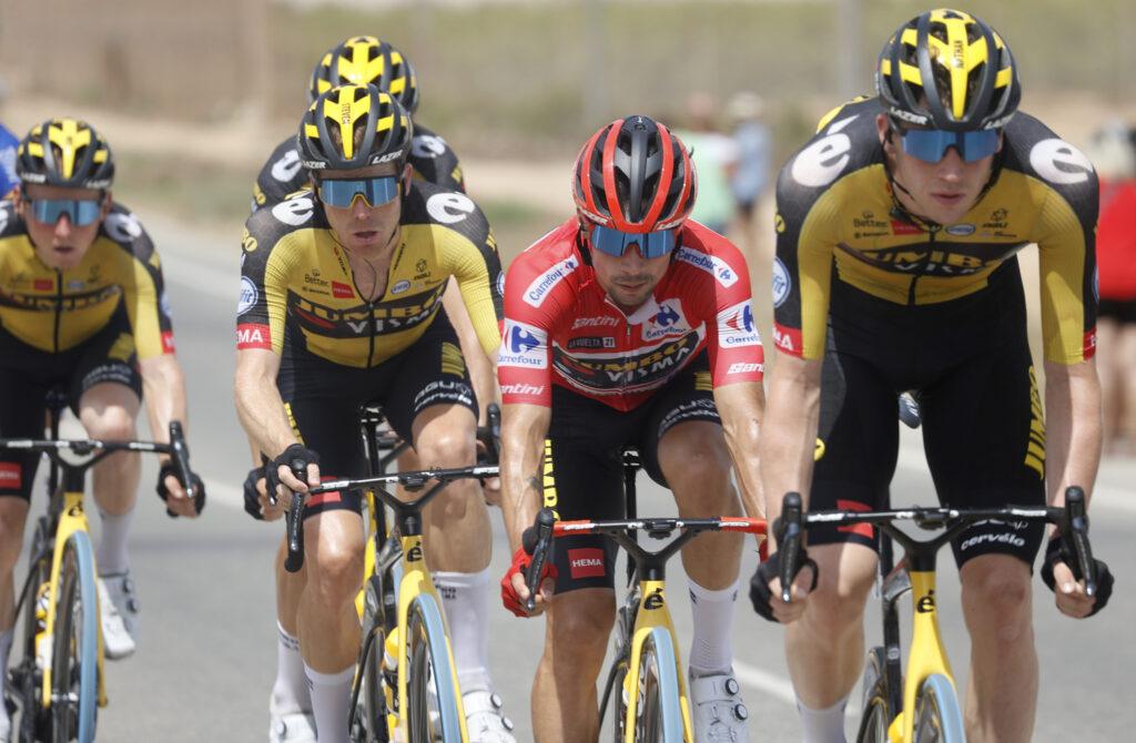 Primož Roglič Vuelta 2021