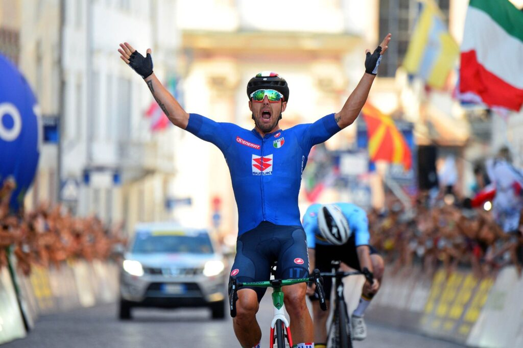 Sonny Colbrelli ME v cyklistike 2021