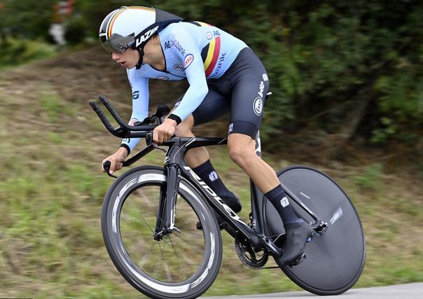 Alec Segaert ME Trentino 2021 časovka juniori