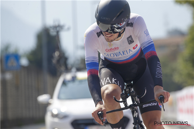 Martin Svrček MS v cyklistike 2021