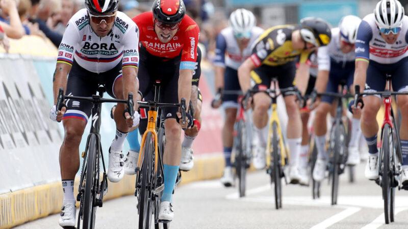 Peter Sagan šprint dnes 3. etapa Benelux Tour 2021
