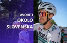 Okolo Slovenska 2021 favoriti Peter Sagan