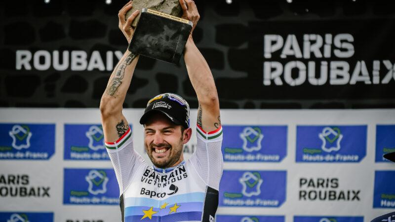 Sonny Colbrelli Paríž - Roubaix 2021