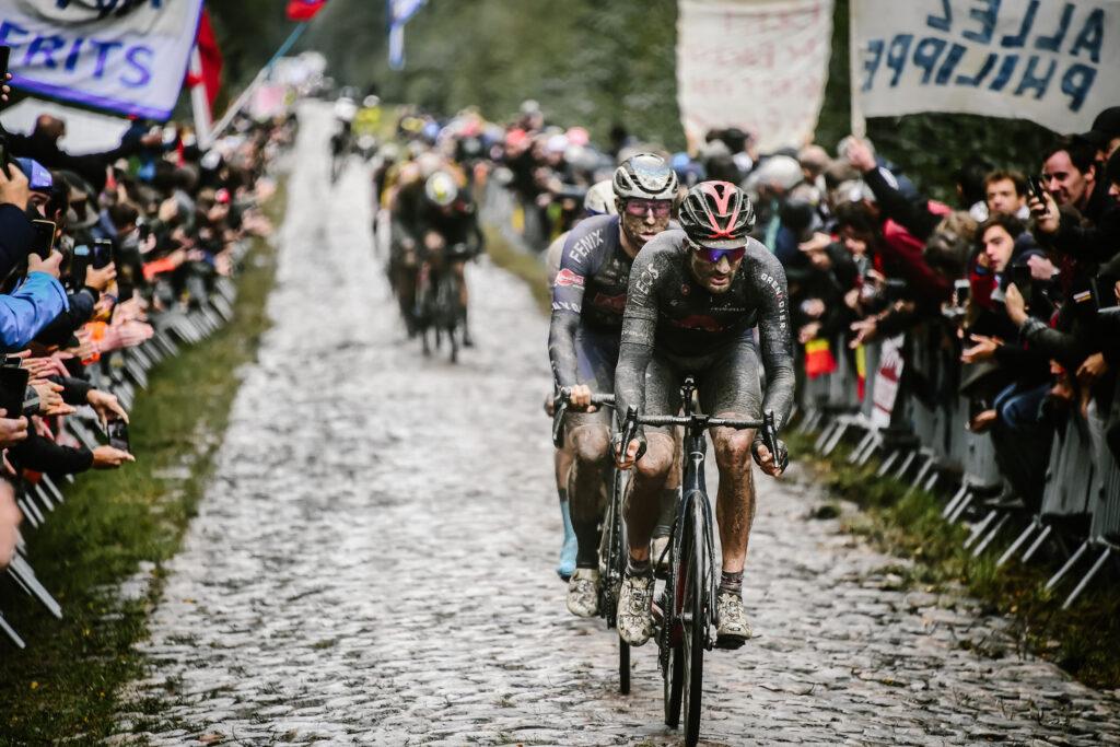 Gianni Moscon Paríž - Roubaix 2021